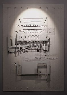 Can Ricart. Workshop of funfair. Conceptual model by Deimante Bazyte, via Behance