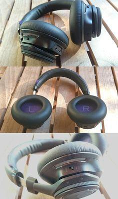 The Plantronics BackBeat Pro wireless headphones.