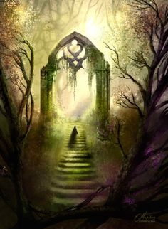 As I come to the gateway inside my dream I feel that it leads to another dream.