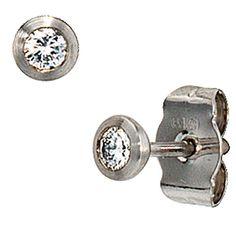 Solitaire Earrings, Diamond Earrings, Stud Earrings, Swarovski, Girls Best Friend, Jewelry Watches, Cufflinks, Ebay, Gold