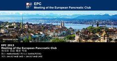 EPC 2013 Meeting of the European Pancreatic Club 취리히 유럽 췌장 학회