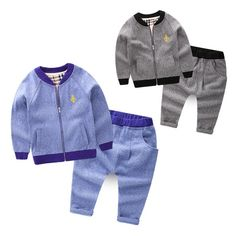 27.00$  Buy here - SUPNEKA Top Quality Boys Clothing Set Causal Sports Suit Clothes Toddler Boy Jacket +Pants Kids Clothing Set  #buyonlinewebsite