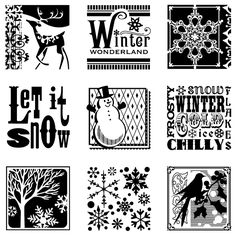 From www.kindredcreations.com February 25th Deal of the Day: Winter Stamp Set SOLD OUT!