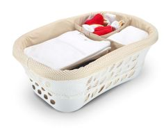 Must-be-neat laundry organizer  ***this is about the neatest laundry basket I have ever seen,  although I really don't think the basket comes with it***