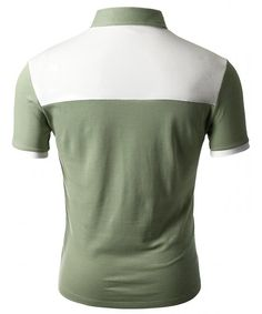 Doublju Mens Back Color Blocked Short Sleeves Polo Shirts With Pocket Point *** Find out more about the great product at the image link. (This is an affiliate link) Polo Shirts With Pockets, Short Sleeve Polo Shirts, Mens Back, Love Clothing, Short Sleeves, Mens Fashion, Mens Tops, Clothes, Collection
