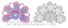 crochet patron gratuit papillon fleurs   Voici un choix important de magnifiques fleurs , trouvées