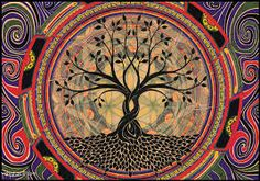 Tree Of Life ♥ Colorful Drawing