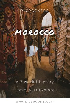 We spent 2 weeks traveling Morocco and these are the spots you need to know about before you go! ✨ Side Borders, Bus Terminal, African Countries, Taxi Driver, Skate Park, Filming Locations, Taking Pictures, Marrakech, Travel Around