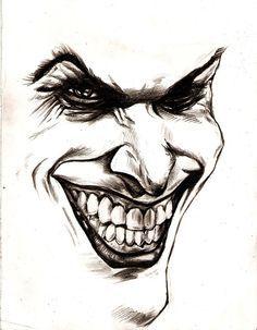 the 44 best joker tattoo outlines images on pinterest joker