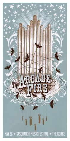 I have this hanging above my fireplace. Best show to date I have attended (The Gorge - Sasquatch 2007