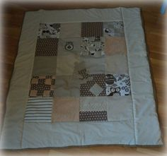 The quilt I made for the baby