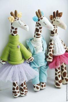 Игрушки животные, ручной работы. Ярмарка Мастеров - ручная работа. Купить Жираф. Handmade. Жираф, игрушка в подарок