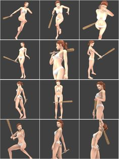 Action Pose Reference, Action Poses, Art Reference Poses, The Sims, Sims Cc, 3d Pose, Sword Poses, Manga Poses, Sims4 Clothes
