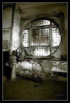 Old circle window...