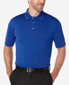 Pga Tour Men's Airflux Mesh Golf Polo