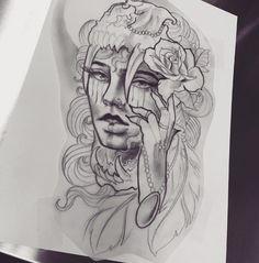 My tattoo 🖤 Artist - Dylan Mitchell