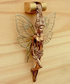 fairy door knocker, isn't she stunning
