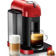 Help jumpstart Mom's day. The new Vertuo coffee system from Nespresso creates world class long cup coffee or espresso that is as easy as the press of a button.