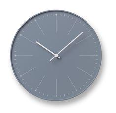Zegar ścienny Dandelion szary - małe zdjęcie