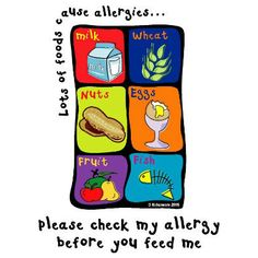 This food allergen poster is and suitable for schools, nurseries or any place where you need to remind people that they are in an allergy awareness zone. 'Please check my allergy before you feed me' message. Back To School Essentials, Nurseries, A3, Allergies, Free Food, Schools, Twin, Packing, Posters