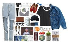 """""""so good at being in trouble, so bad at being in love"""" by crunchypeanutbutter ❤ liked on Polyvore featuring H&M, Levi's, Vans, Stussy, Petit Bateau, The Bridge, Retrò, WearAll, Karin Herzog and SOPHIE by SOPHIE"""