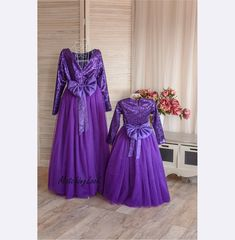 1aa1171f16 Purple Matching Outfits Mother Daughter Matching Dress Mommy and Me  Outfits, Ultra Violet Sequin Dresses, Mom Baby Girl Party Tutu Dress