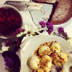 Selection of Ballymaloe House desserts