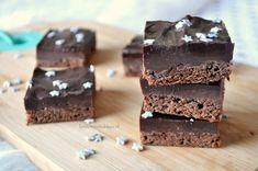 Kerst brownies met nutella fudge - Christmas brownies with nutella fudge #nutella #brownies #christmasbaking
