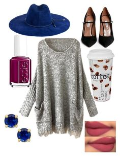 """Idk I was bored and made this"" by megs-oasis ❤ liked on Polyvore featuring Kate Spade, Essie, Könitz, Emilio Pucci and Tabitha Simmons"