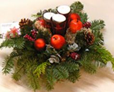 Idee per decorare il Natale in maniera divertente con i fiori