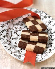 Checkerboard Cookies - Martha Stewart Recipes