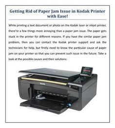 Getting Rid of Paper Jam Issue in Kodak Printer with Ease!