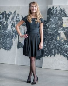 Leopoldine dress by Anne Durrieu - fab' details: I love it!