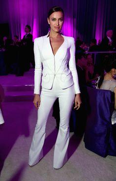Irina Shayk Photos: Inside the Elton John AIDS Foundation Oscars Viewing Party — Part 2