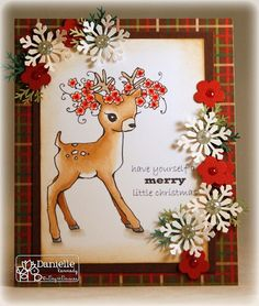 A Day For Daisies: Take Two ~ December Club Kit & Challenge #111 - Traditional Christmas...