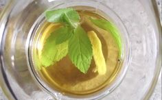 Guest Post from Lucas: Fresh Mint Tea, Chemist in the Bottle-Style
