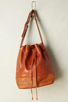 Traveler Bucket Bag #anthropologie