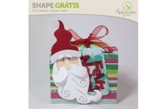Shape da semana 48 Silhouette Brasil - Sacolinha de Natal