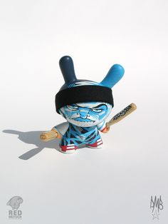 "Most Wanted III - 3"" custom dunnys by David Bishop, via Behance"