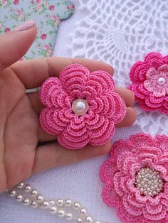 Your place to buy and sell all things handmade Crochet Flower Patterns, Crochet Flowers, Yarn Flowers, Spring Festival, Crochet Shawl, Fabric Crafts, Crochet Projects, Hand Embroidery, Diy And Crafts