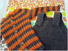 Retro knit for the baby