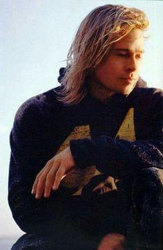 Brad Pitt long hair #BradPitt