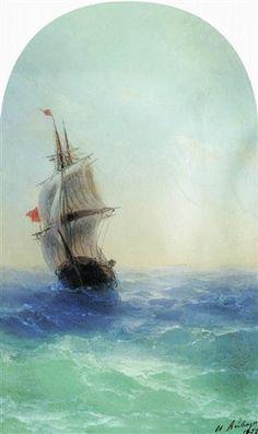 Stormy sea - Ivan Aivazovsky