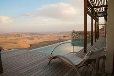 Beresheet Hotel In Ramon Crater, Israel | Trendland: Fashion Blog & Trend Magazine