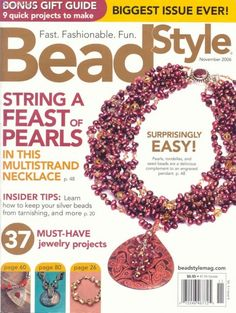 Bead+Style+Magazine_Cover. Обсуждение на LiveInternet - Российский Сервис Онлайн-Дневников