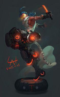 ArtStation - J, yuan lan ★ Find more at http://www.pinterest.com/competing/
