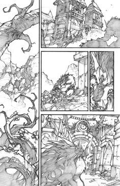 WoW Curse of the Worgen 4 pg01 by LudoLullabi.deviantart.com on @deviantART