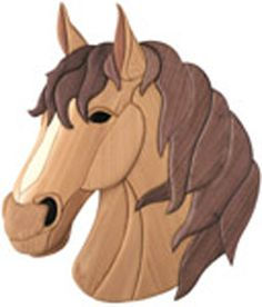 Horse Intarsia Project Pattern