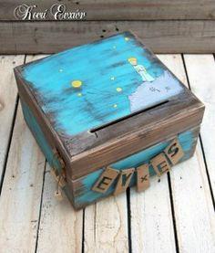 ξύλινο, κουτί, ευχών, ευχές, μικρός, πρίγκιπας, βάπτιση, πάρτι, party, αγόρι, αγοράκι,