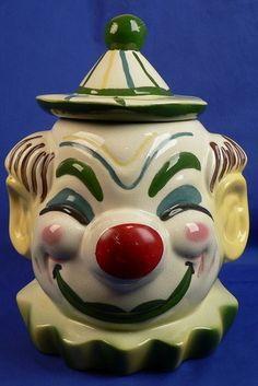 Sierra Vista Clown Cookie Jar